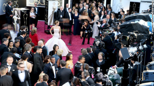 Just look at her at this year's Academy Awards. Simply stunning.