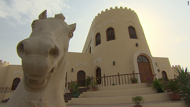 Welcome to Qatar's six-star luxury hotel -- for horses. Umm Qarn, north of Doha, is hardly your average stud farm, boasting a swimming pool, solarium and treadmill. 