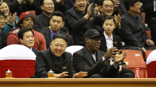 Basketball star Dennis Rodman arrives in Pyongyang for second trip in a year