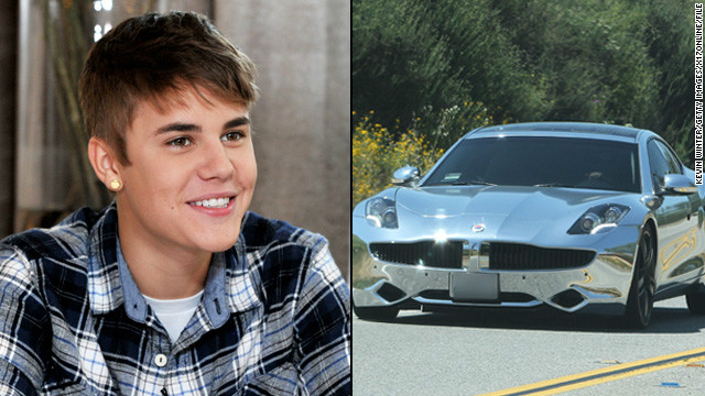 When you're Justin Bieber, you get a $100,000 electric sports car for your 18th birthday -- and <a href='http://marquee.blogs.cnn.com/2012/03/01/justin-bieber-gets-birthday-surprise-on-ellen/'>from Ellen DeGeneres on her talk show</a>, no less.