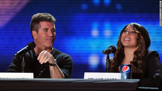 Simon Cowell outraged his &quot;Britain's Got Talent&quot; audience when at the show's audition he refused to vote with his fellow judges to let the well-received teenage duo The Elite move to the next round of competition.