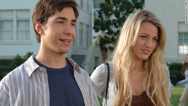 When Justin Long's Bartelby can't get into college, he invents the South Harmon Institute of Technology (we'll let you figure out why that's funny) in &quot;Accepted.&quot; Blake Lively played his love interest and Jonah Hill, not pictured, played his best bud.