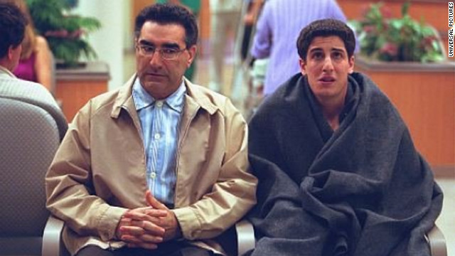 "We didn't think life could get any crazier for Jim Levenstein (Jason Biggs) and friends after seeing ""American Pie."" Then the sequel hit theaters. During the summer before sophomore year of college, the gang showed us how to make the most of a <a href='https://www.youtube.com/watch?v=QlI7_VTxUvA' target='_blank'>part-time job</a>, and what really goes on at band camp."