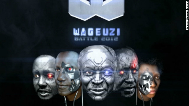 """Wageuzi,"" which means ""transformers"" but also ""changemakers"" in Swahili, is a 3D animated short film portraying Kenya's political candidates fighting it out for the country's presidency."