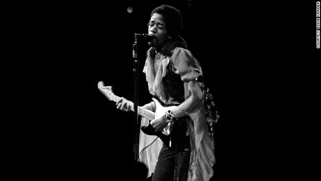 "<strong>Hendrix performs at Madison Square Garden in 1969:</strong><!-- --> </br>""I was always mesmerized by the transformation of Jimi's persona from the shy, soft-spoken individual into the towering monster guitarist that appeared on stage demolishing everything in his path with waves of intense sound. I rarely attended Jimi's shows as just a fan and not being in a mobile truck recording him,
