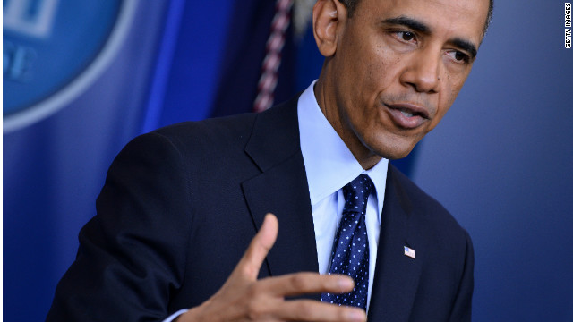 Transcript: Obama's press conference on spending cuts