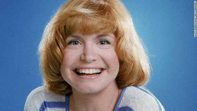 Actress Bonnie Franklin, star of the TV show
