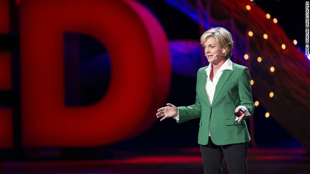 Former Michigan Gov. Jennifer Granholm called for a &quot;Race to the Top&quot; competition among states to push the U.S. toward the use of cleaner energy. 