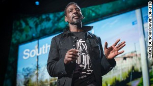 Ron FInley is organizing efforts to grow healthy food in the \