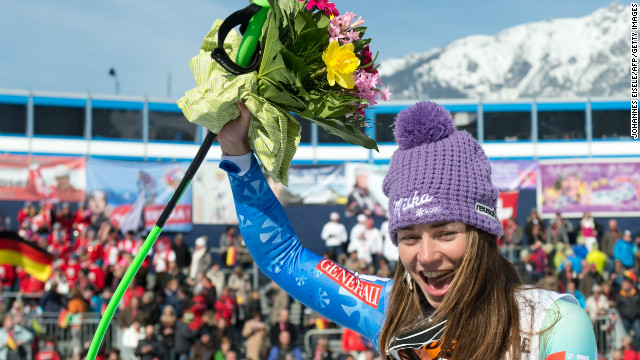 Slovenia's Tina Maze has confirmed she received a death threat while competing in Germany.