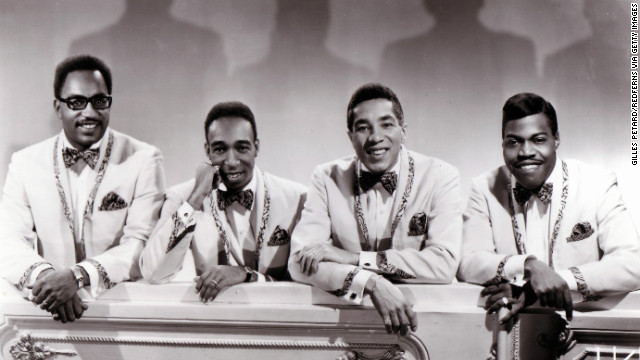 <a href='http://www.cnn.com/2013/03/03/showbiz/bobby-rogers-dead/index.html'>Bobby Rogers</a>, one of the original members of Motown staple The Miracles, died on Sunday, March 3, at 73. From left: Bobby Rogers, Ronald White, Smokey Robinson and Pete Moore circa 1965.