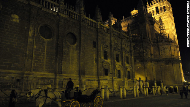 The Spanish city of Seville offered an Old World flavor.