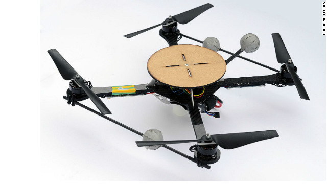 Quadrocopters are popular now because of the shrinking size and cost of technology, says D'Andrea. 