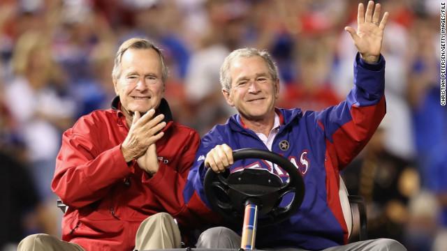 Bush writes book about Bush