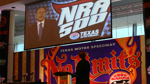 National Rifle Association to sponsor NASCAR race in Texas