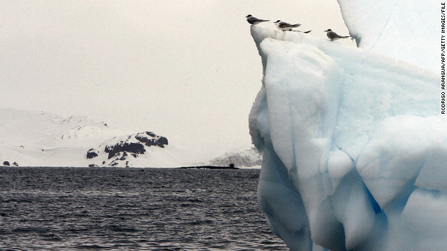 This year's Sports Illustrated swimsuit issue was photographed on seven continents. The cover shot was taken in chilly Antarctica.