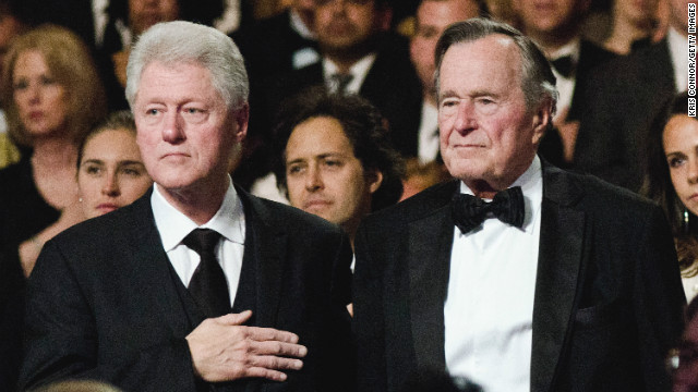 George H.W. Bush on bonding with Bill Clinton