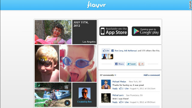 Flayvr is an intuitive app that groups a user's photos and videos by date or subject matter.