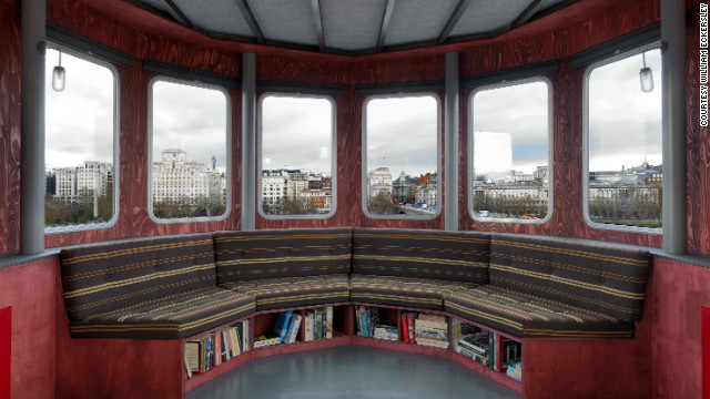"""There can be few places to stay a night in London quite as unusual, poetic and life-enhancing as A Room for London - a boat perched, as if by retreating floodwaters, on the very edge of the Queen Elizabeth Hall,"" said organizers."