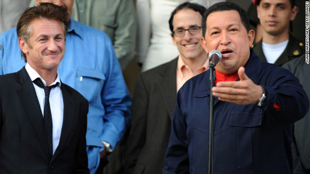 Photos: Celebrities and Hugo Chavez
