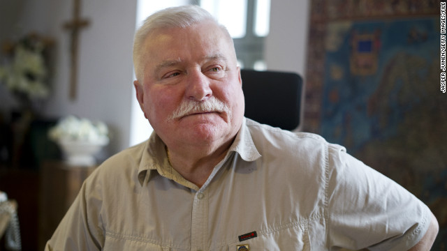 Walesa: No apology for anti-gay remarks