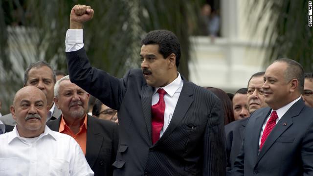 Nicolás Maduro asume la presidencia interina de Venezuela
