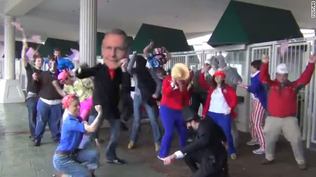 McConnell campaign shakes it up with Harlem Shake