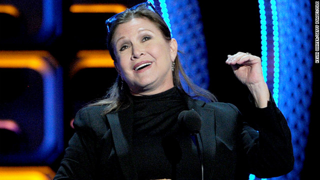 Carrie Fisher as an 'elderly' Princess Leia? Not so fast