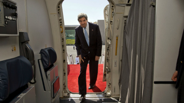 Kerry to Israel, Turkey in bid to boost peace process, solidify ties