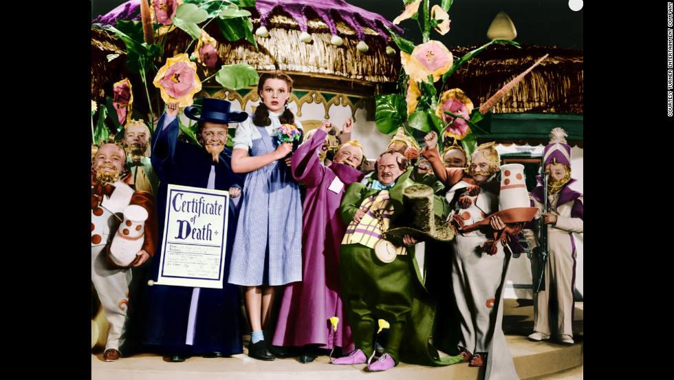 "Moviegoers first went to Oz in 1939. Click through to see behind-the-scenes images and publicity shots from the classic ""The Wizard of Oz."" <a href='http://www.tcm.com/tcmdb/title/852/The-Wizard-of-Oz/' target='_blank'>Check Turner Classic Movies' ""Wizard of Oz"" page to see when the classic will air next.</a>"