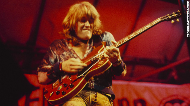 Alvin Lee, the speed-fingered British guitarist who lit up Woodstock with a monumental 11-minute version of his song &quot;I'm Going Home,&quot; died on March 6, according to his website. He was 68.