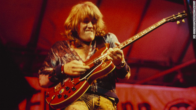 Guitarist Alvin Lee of Woodstock fame dies at 68