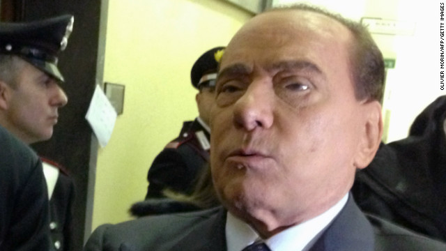 Former Italian Prime Minister Silvio Berlusconi.