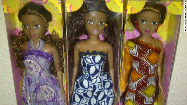 """Queens of Africa"" is another range of dolls, launched by Nigerian entrepreneur Taofick Okoya to teach children about African heritage."