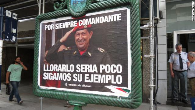 Los tuits de Cristina sobre la muerte de Chávez