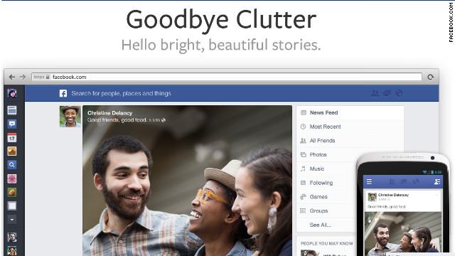 Facebook rediseña su Timeline