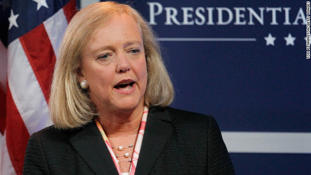 Margaret C. Whitman made $16.5 million as president and CEO of Hewlett-Packard in 2011.