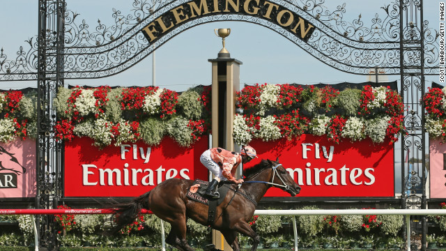 After her nailbiting win at Royal Ascot last year, Black Caviar took an eight-month break from racing. But the unbeatable horse didn't disappoint when she made a triumphant return to Melbourne's Flemington Race Course in February, securing her 23rd consecutive win.