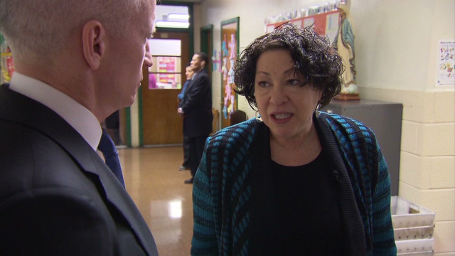 Tonight on AC360: Supreme Court Justice Sonia Sotomayor talks to Anderson
