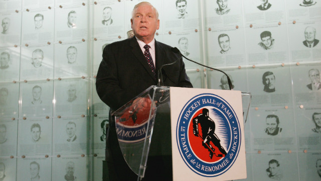 Bill Hay, who played with the Blackhawks for eight seasons, is seen at the Hockey Hall of Fame in Toronto in 2007. Hay is chairman and CEO of the Hockey Hall of Fame.
