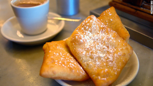 The airy beignets (made from a 143-year-old recipe) and caf au lait at this 24-hour, wood-paneled Metairie haunt leave the better-known Caf du Monde in their sugar dust. &lt;a href='http://morningcallcoffeestand.com' target='_blank'&gt;morningcallcoffeestand.com&lt;/a&gt;. $