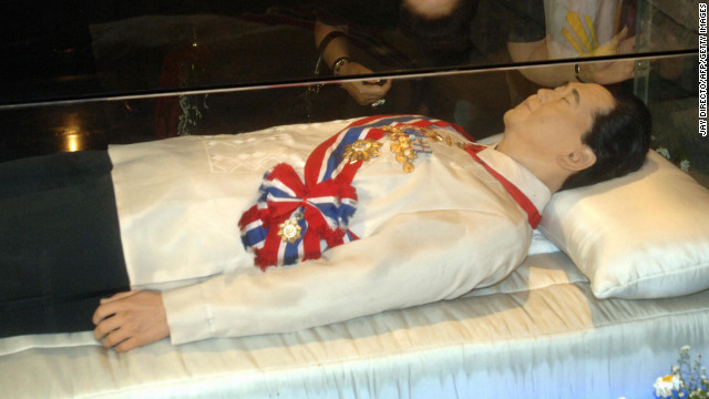 Dead Embalmed Bodies In Coffin http://www.cnn.com/2013/03/08/world/americas/venezuela-chavez-embalming/