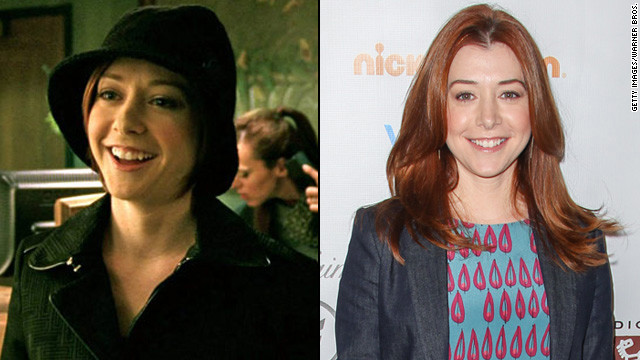 """Buffy the Vampire Slayer's"" Alyson Hannigan occasionally showed up as Logan Echolls' sister Trina. She has since starred on ""How I Met Your Mother"" for eight seasons, and reprised her ""American Pie"" role in 2012's ""American Reunion."""
