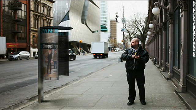 One of six finalists in New York's Reinvent Payphones contest, the &quot;NYC I/O&quot; phone booth aims to provide an open, urban-scale computing platform which provides access to real time data on important local information and civic events.