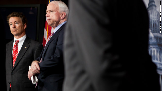McCain: 'Tough choice' picking between Clinton and Rand Paul
