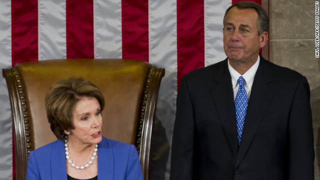 Don't be like D.C. politicians, says Frida Ghitis. Above: Former House Speaker Nancy Pelosi and House Speaker John Boehner .