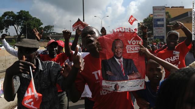 Uhuru Kenyatta, acusado de crímenes contra la humanidad, gana las elecciones en Kenia