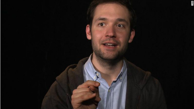 Reddit co-founder Alexis Ohanian told CNN that, despite his activism on behalf of an open Internet, he has no political ambitions.