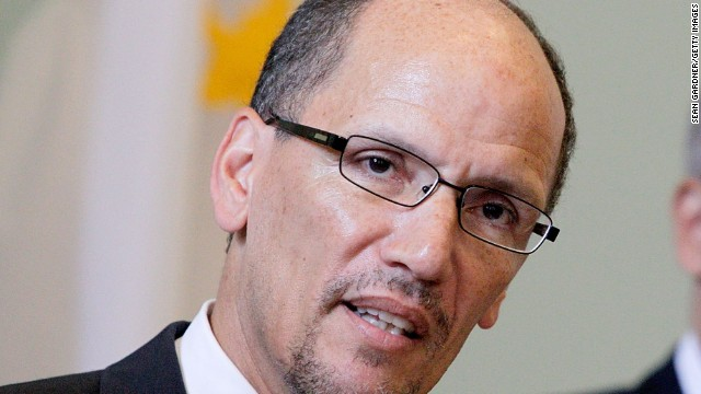 Obama to announce Perez as labor secretary nominee