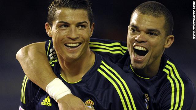 Ronaldo scored twice as Real Madrid beat Celta Vigo 2-1 in the Spanish League